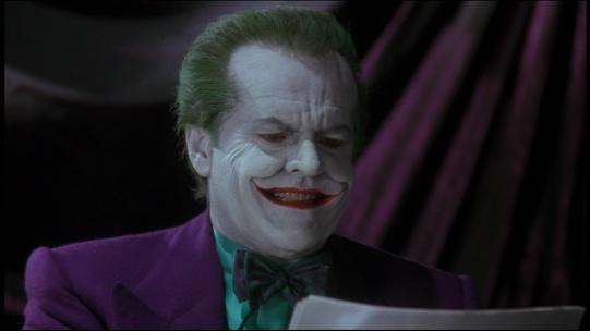 Jack Nicholson's The Joker