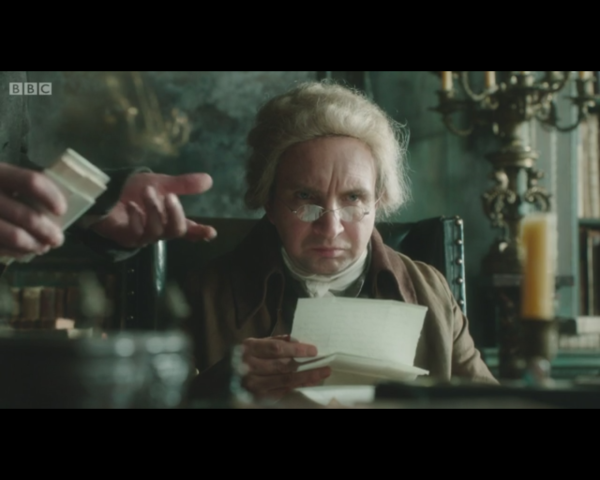 Jonathan Strange and Mr Norrell-Mr Norrell reading letters