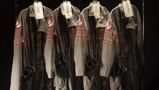 New Ghostbusters uniforms paul feig