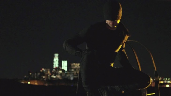 Daredevil black costume