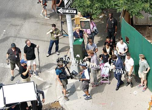 NYC madness on Daredevil set