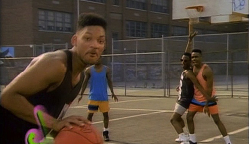Fresh Prince of Bel-Air- hoops