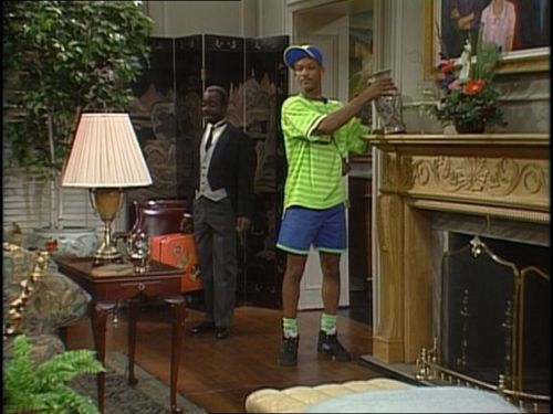 Fresh Prince- Will and Geoffrey