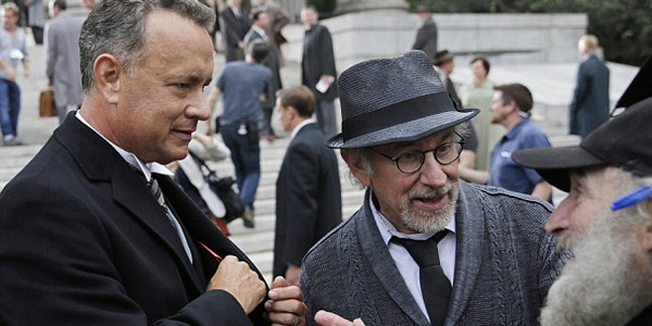 spielberg and hanks