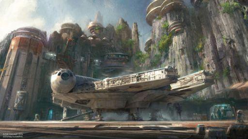 Star Wars theme park concept art 3