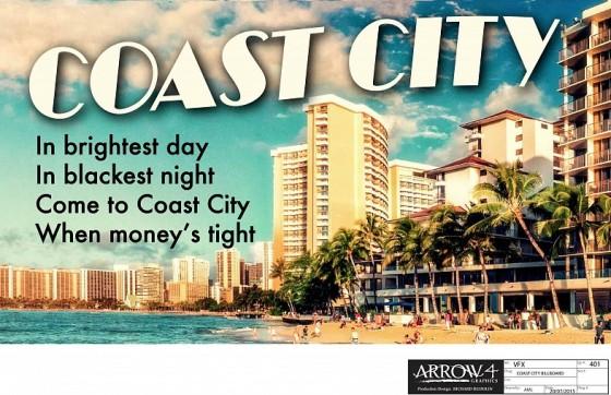 Arrow Season 4 Coast City production art