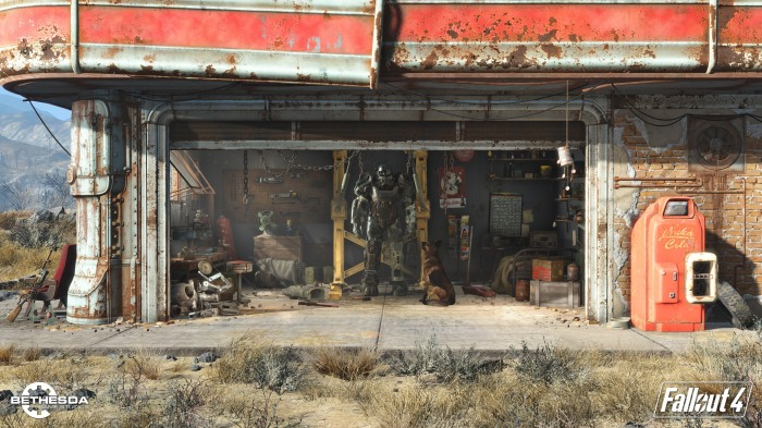 Fallout 4 Brotherhood of Steel armour