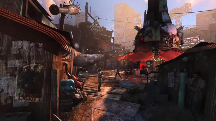 Fallout 4 market town