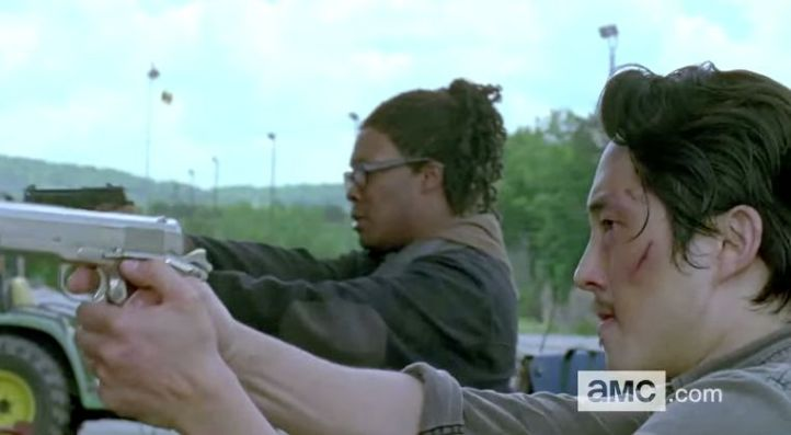 Heath and Glenn vs zombies