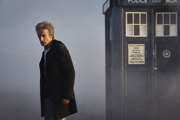 The Doctor by the TARDIS