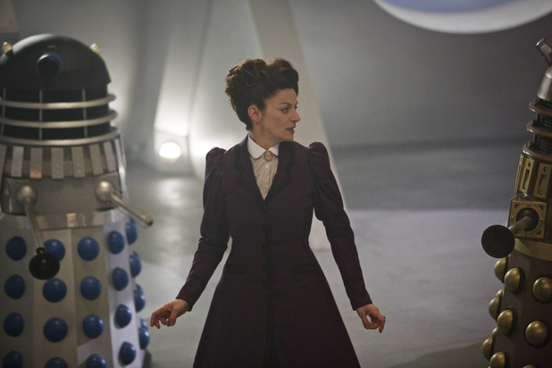The Witch's Familiar Missy and the Daleks