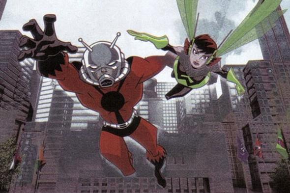 Ant-Man and Wasp comics