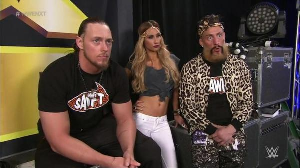 Big Cass, Enzo Amore and Carmella