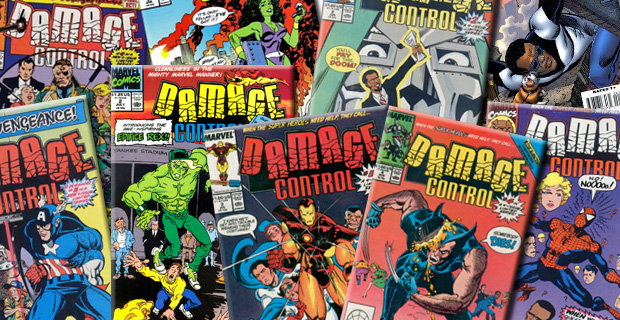 Damage Control comic covers