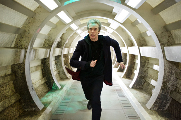 Doctor Who Under The Lake- The Doctor runs from the ghosts