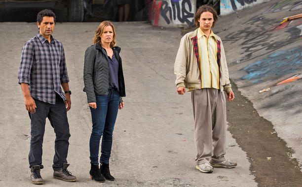 Fear The Walking Dead- Travis, Madison and Nick