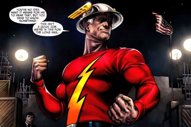 Jay Garrick comic book version
