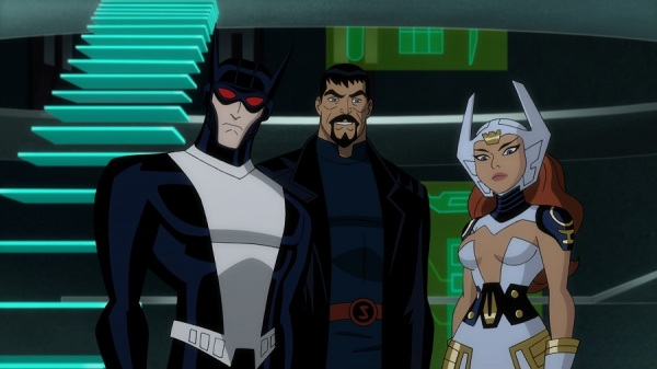 Justice League Gods and Monsters- Superman, Wonder Woman and Batman