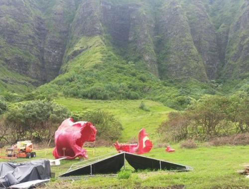 Kong Skull Island heads