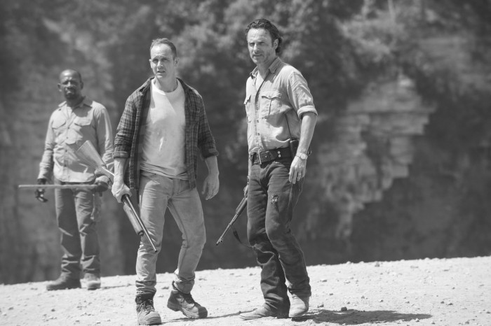 TWD- Morgan, Rick and Alexandrian