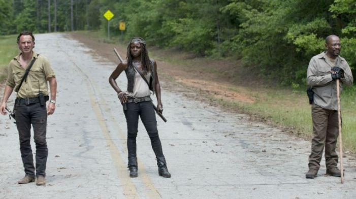 TWD season 6 premiere- Rick, Morgan and Michonne