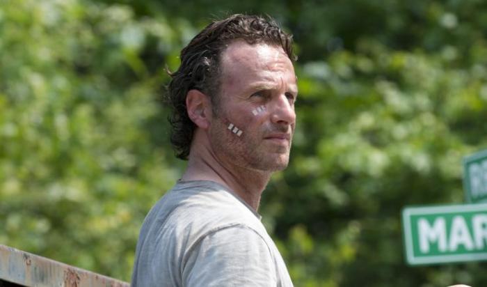 TWD season 6 premiere- Rick