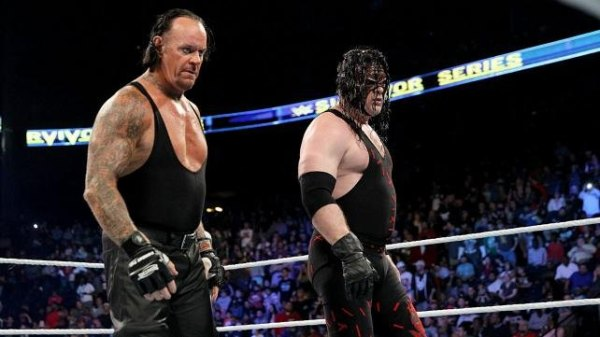 Survivor Series Kane and Undertaker