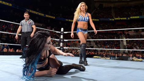 wwe Survivor Series 2015 paige vs charlotte