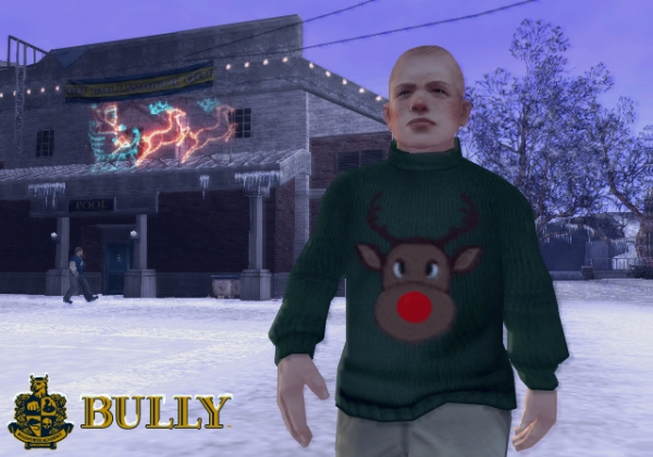 Bully Scholarship Edition Christmas level