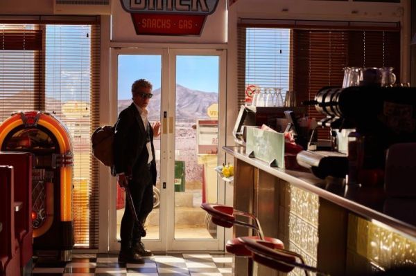 Doctor Who Hell Bent- the diner