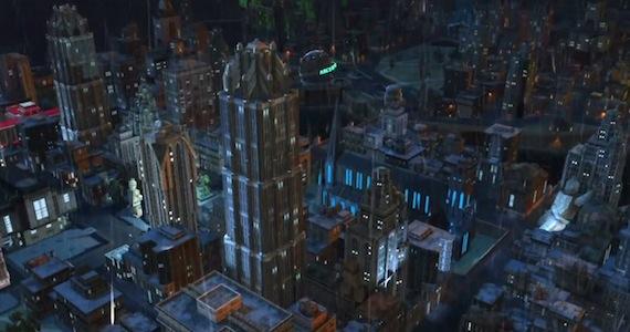 Gotham Lego Batman