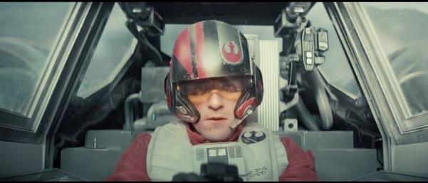 Poe in X-wing