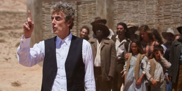 The Doctor and the locals