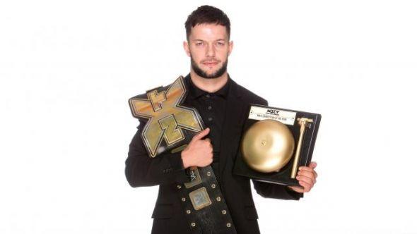 Balor NXT Champion slammy award winner