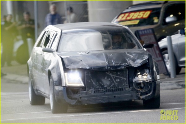 Wolverine 3 destroyed limo