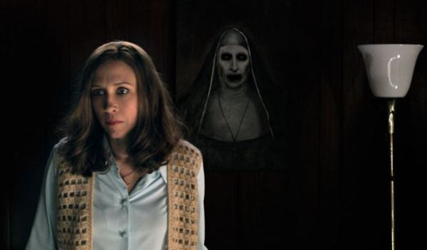 The Conjuring 2 painting scene