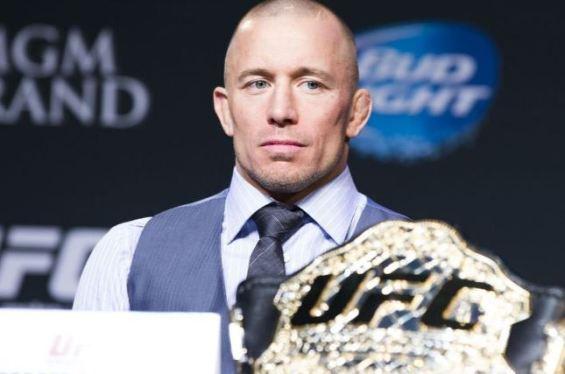 GSP UFC championship
