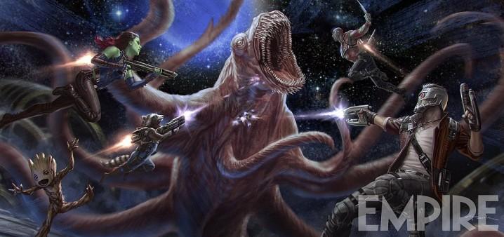 guardians galaxy 2 concept art monster
