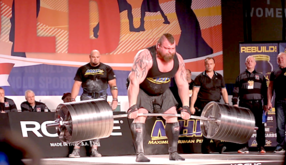 Eddie Hall 1000 llbs deadlift